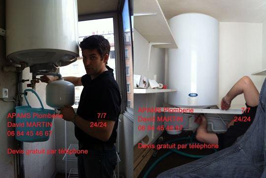 d pannage chauffe eau 7 7 lyon 24 24 depannage lectrique lyon par david martin. Black Bedroom Furniture Sets. Home Design Ideas